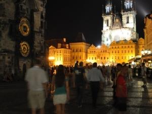 Rynek Starego Miasta nocą… (Staroměstské náměstí)