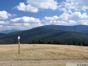 Widok z Hali Lipowskiej w stronę Pilska i Babiej Góry
