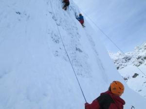 Wspinaczka w lodzie