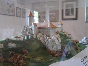 Makieta zamku w Ojcowie