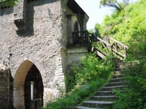 Wieża zamku w Ojcowie