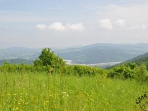 W stronę Zembrzyc - punktu pośredniego wycieczki