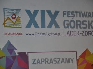 XIX Festiwal Górski w Lądku Zdroju