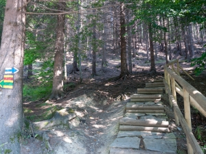 Początek szlaku do Chaty Kamenitý