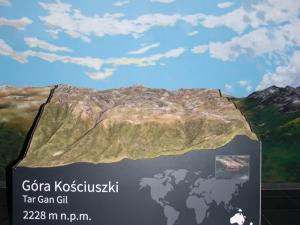Makieta Góry Kościuszki