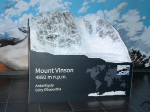 Makieta Mount Vinson