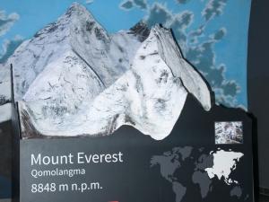 Makieta Mount Everest