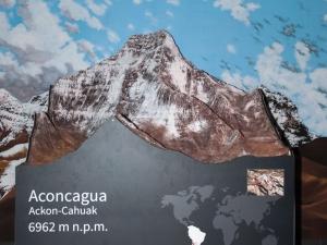 Makieta Aconcagua
