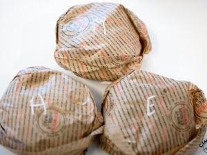 Hamburgery podane...