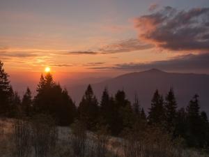 Wschód Słońca na Ćwilinie