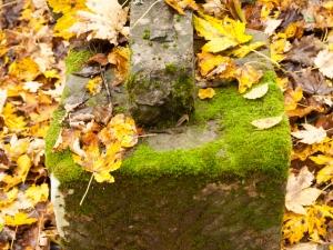 Łopienka. Pozostałości cmentarza