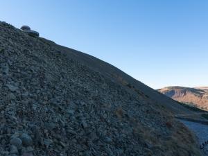 Kamieniste zbocze Śnieżki