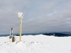 1557 m n.p.m., kolejny raz zimą