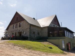 Schronisko Klimczok na stokach Magury