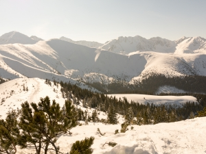 Z Tatr Zachodnich w stronę Rohaczy