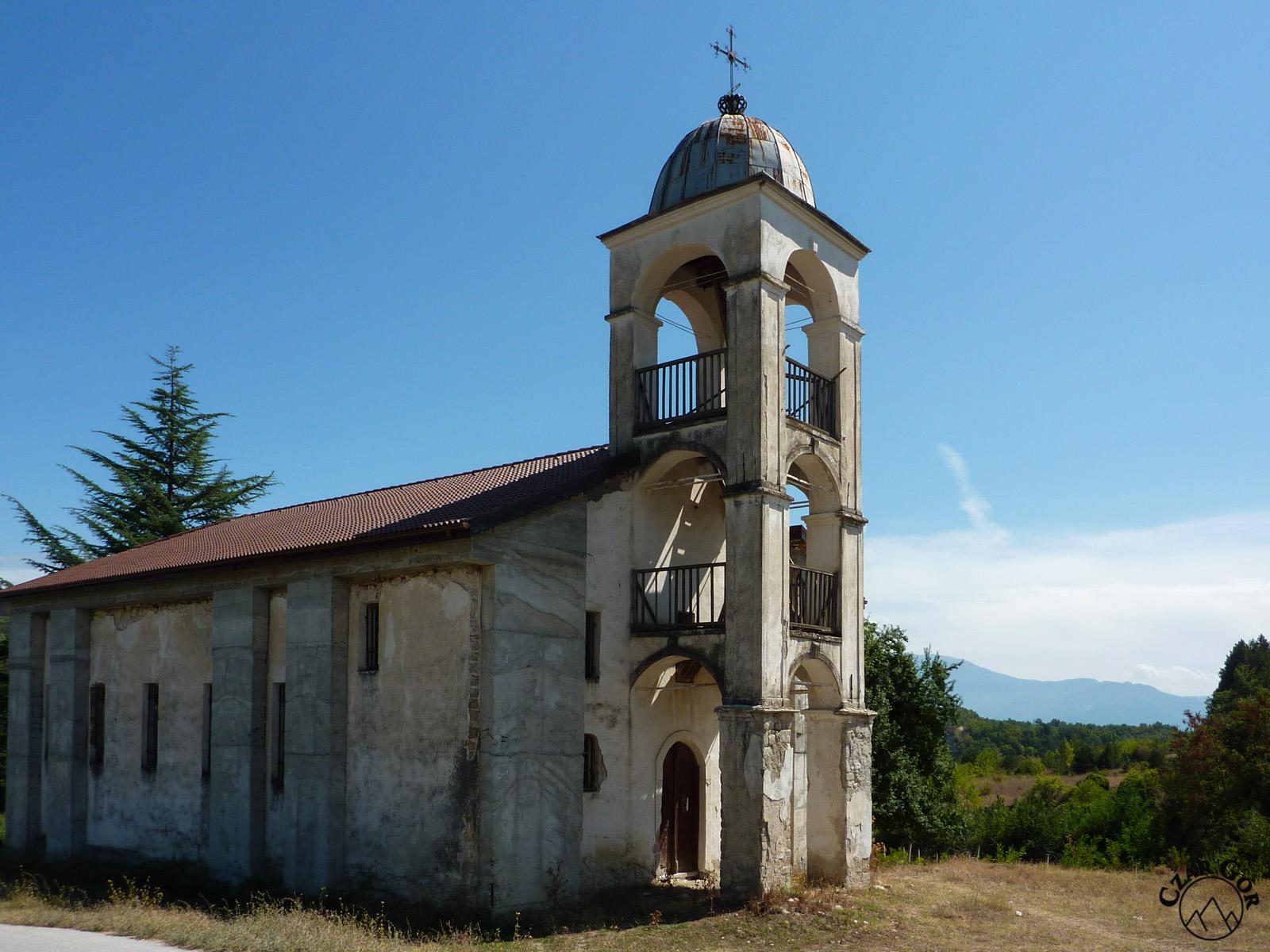 Stary kościół przy którym pochowano Jane Sandanskiego