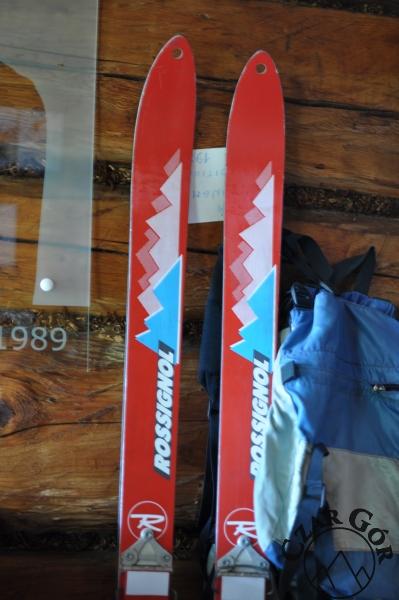Na tych nartach J. Kukuczka zjechał ze swojego ostatniego ośmiotysięcznika - Shisha Pangma