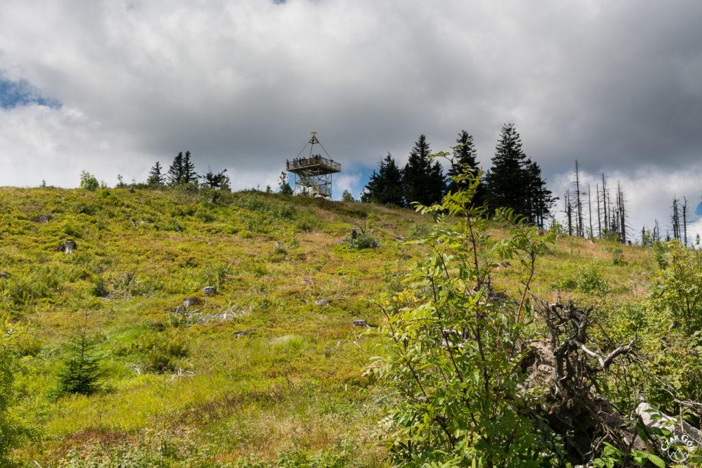 Wieża widokowa na Baraniej Górze. Kiedyś niezbędna...