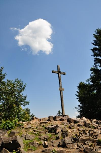 Łysica - najwyższy szczyt Gór Świętokrzyskich