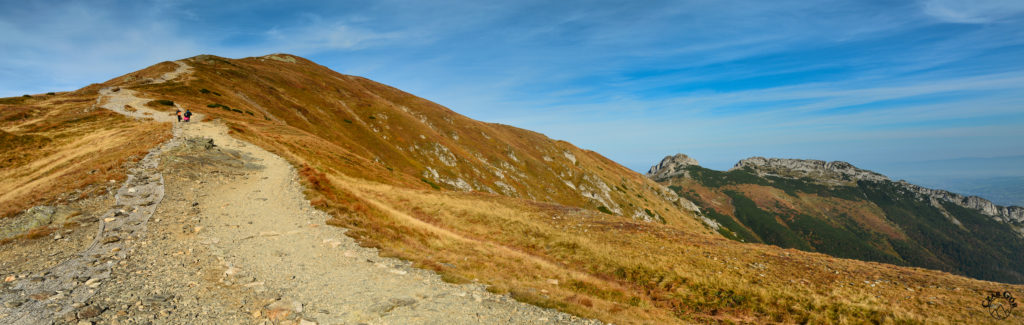 Czerwone Wierchy z Przełęczy Pod Kopą Kondracką