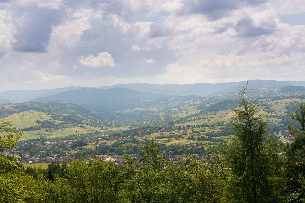W stronę Mszany Dolnej