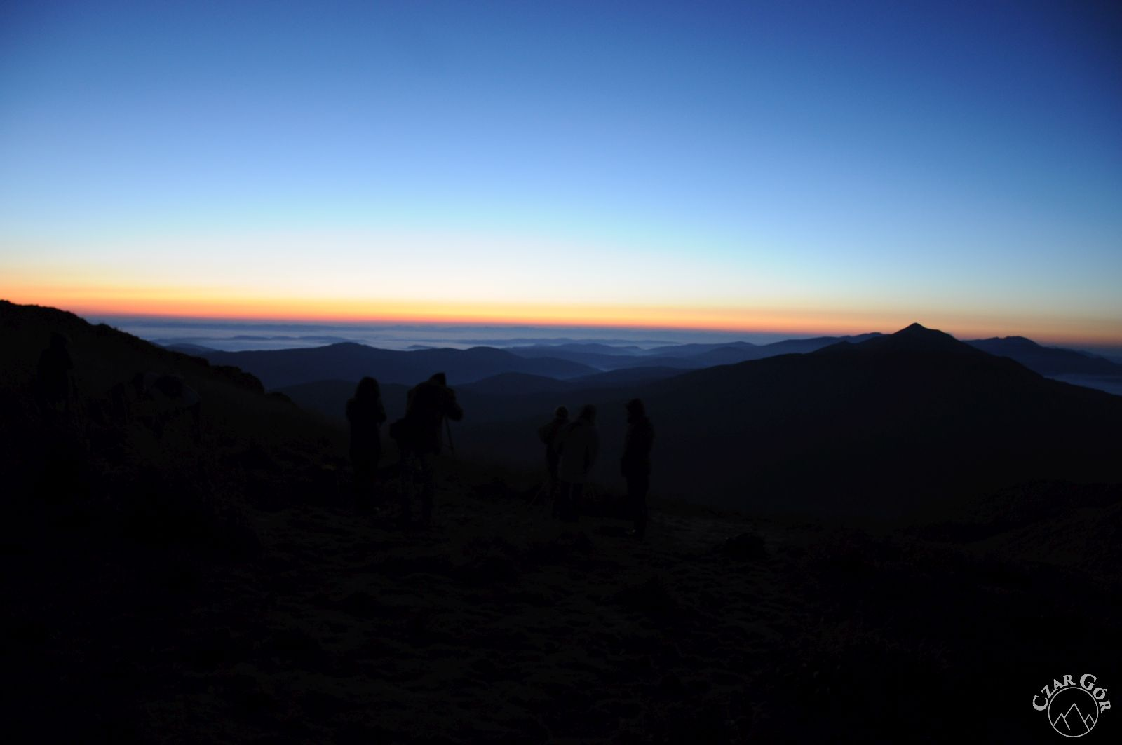 Wschód Słońca na Połoninie Wetlińskiej