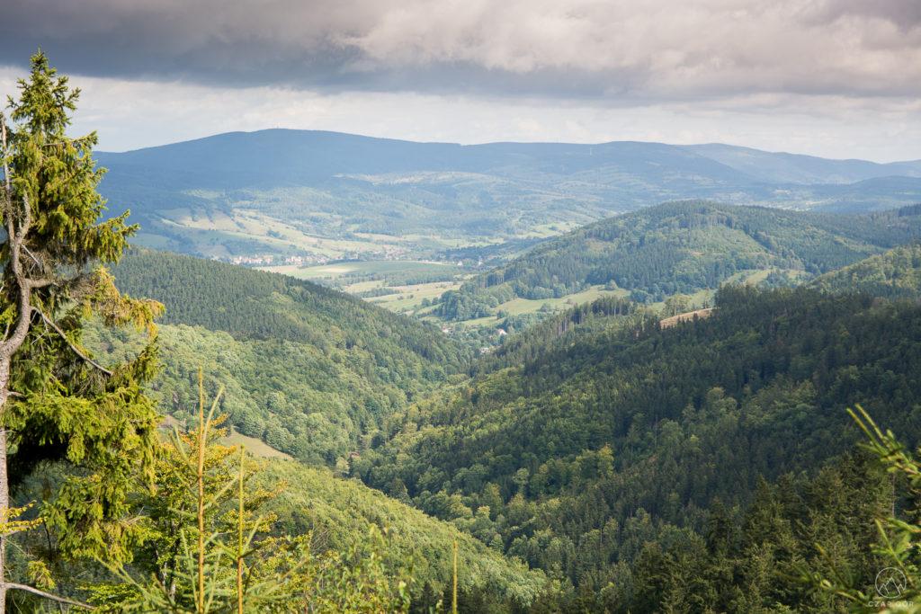 W stronę Doliny Łomnickiej