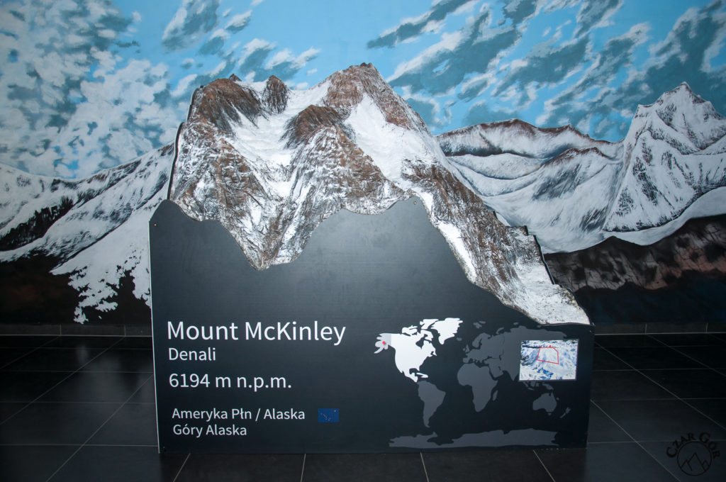 Makieta Mount McKinley