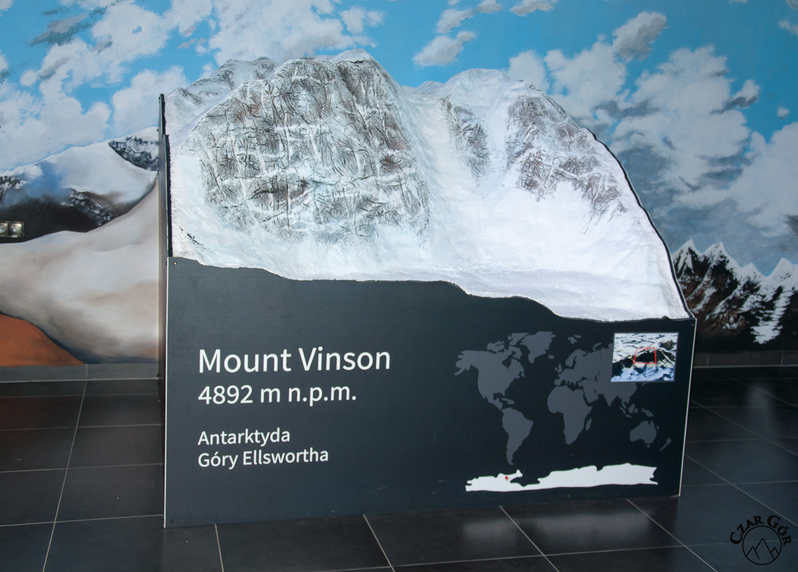Makieta Mount Vinson