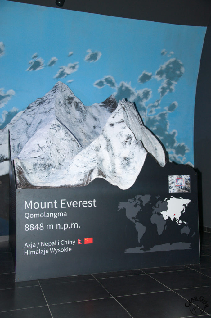 Makieta Mount Everest