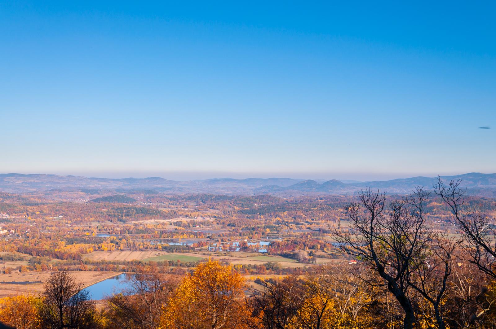 Przepiękne panoramy z zamku chojnickiego
