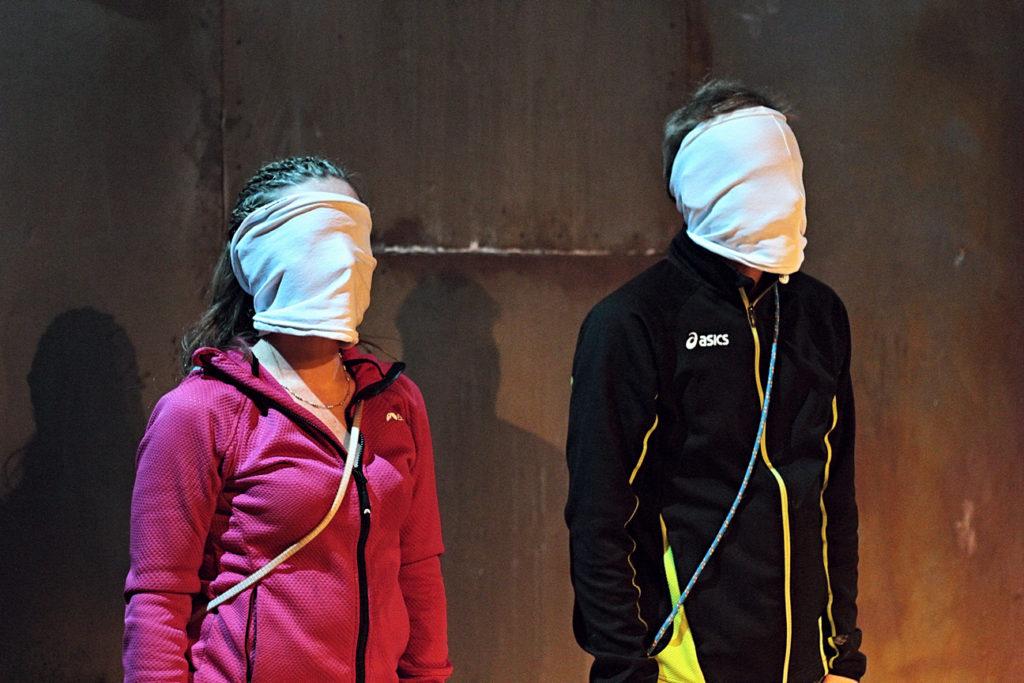 Zdjęcie ze spektaklu 'Każdemu Everest'