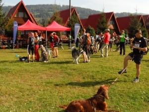 Uczestnicy przed startem