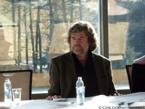 R. messner - konferencja prasowa