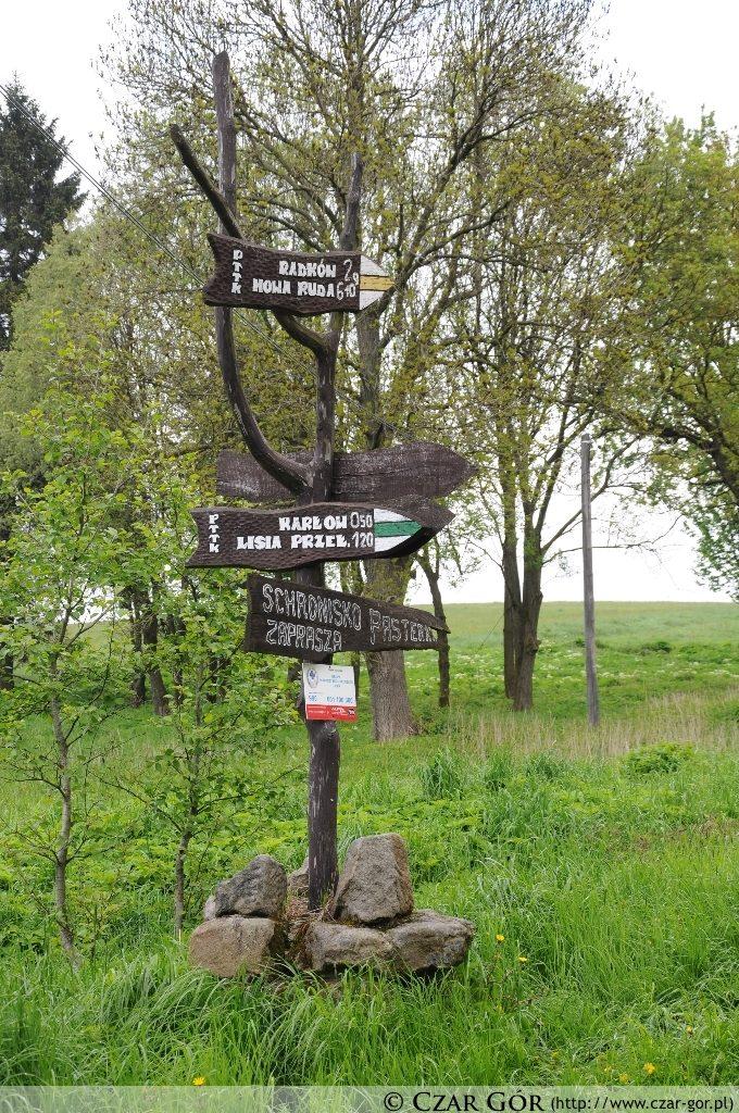 Droga do Schroniska Pasterka