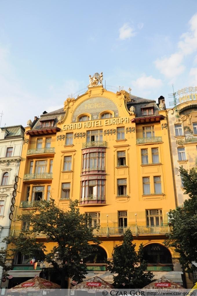 Grand Hotel Europa na Placu Wacława (Václavské náměstí)