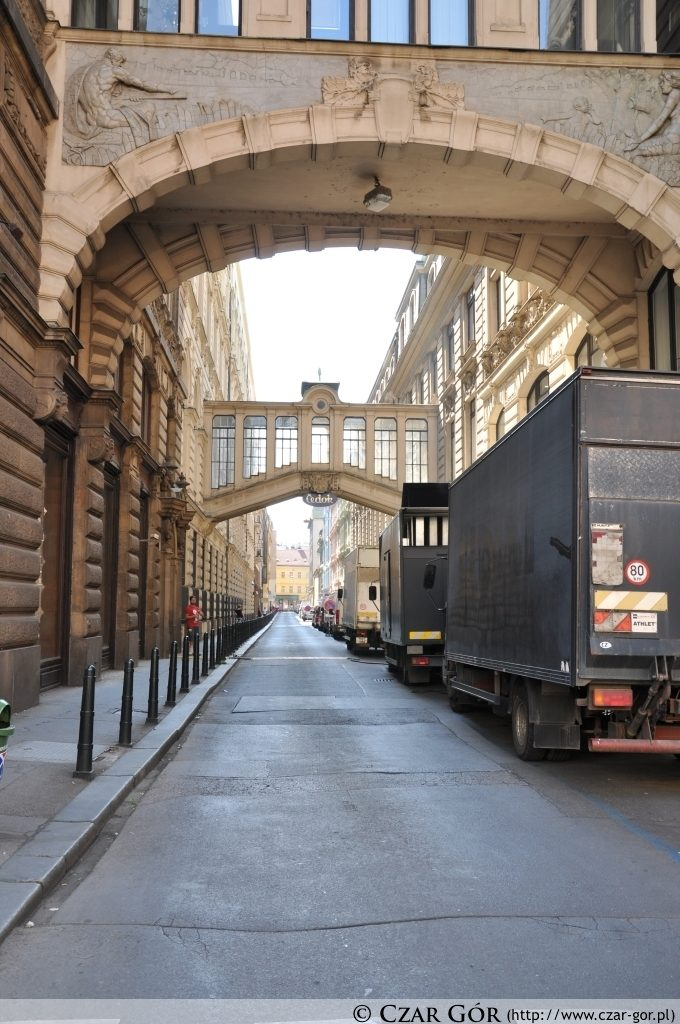 Uliczka w Pradze