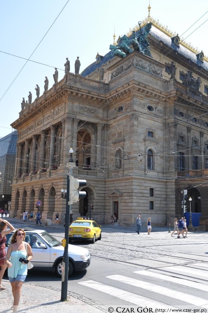 Teatr Narodowy w Pradze (Národní divadlo)