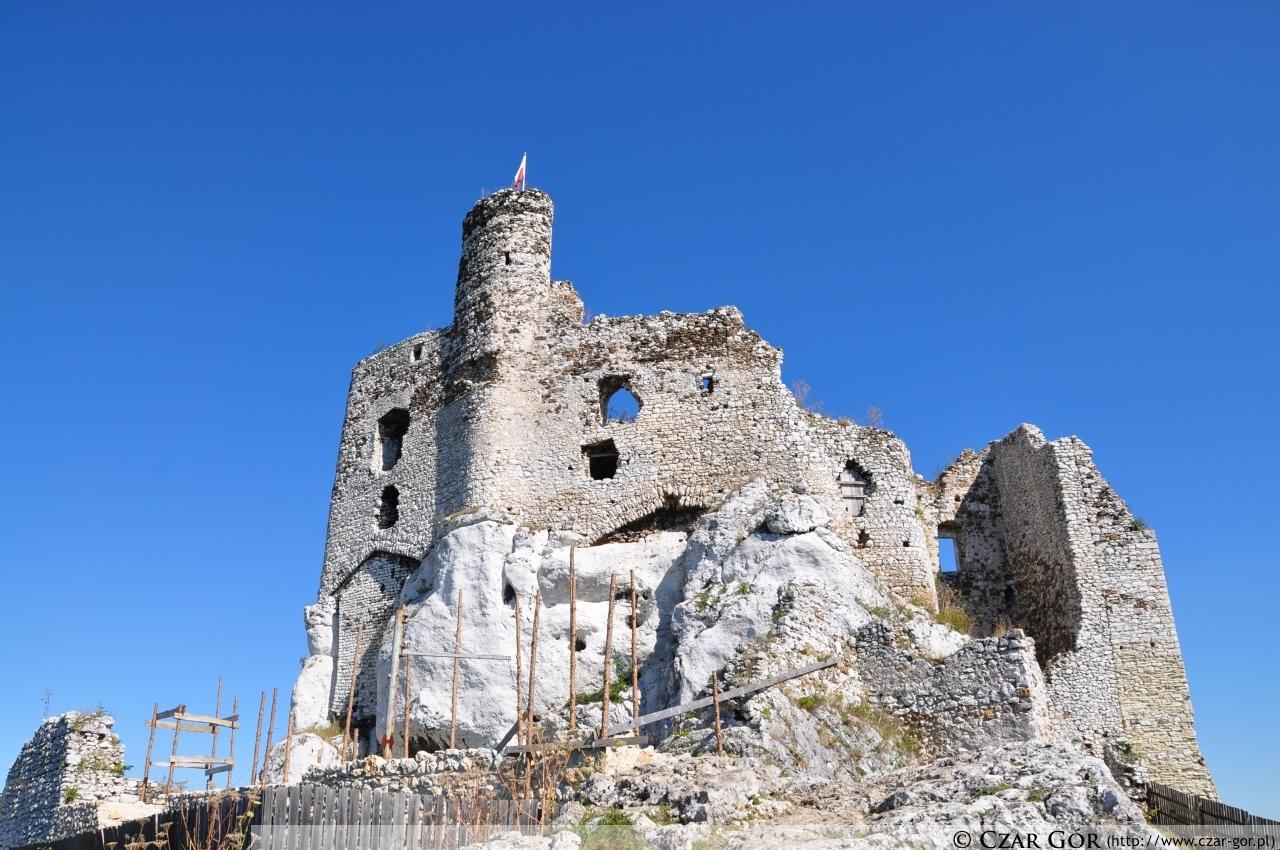 Widok zamku w Mirowie