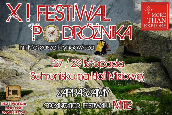 Festiwal Podróżnika im. Mateusza Hryncewicza 2015