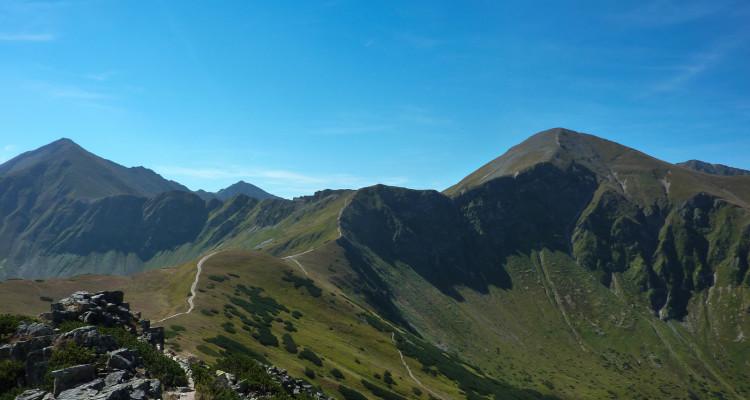 Weekend w Tatrach. Ornak od Przełęczy Iwaniackiej