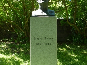 Popiersie Edwarda Muncha