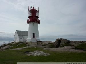 Latarnia morska Lindesnes - najbardziej na południe wysunięty punkt Norwegii