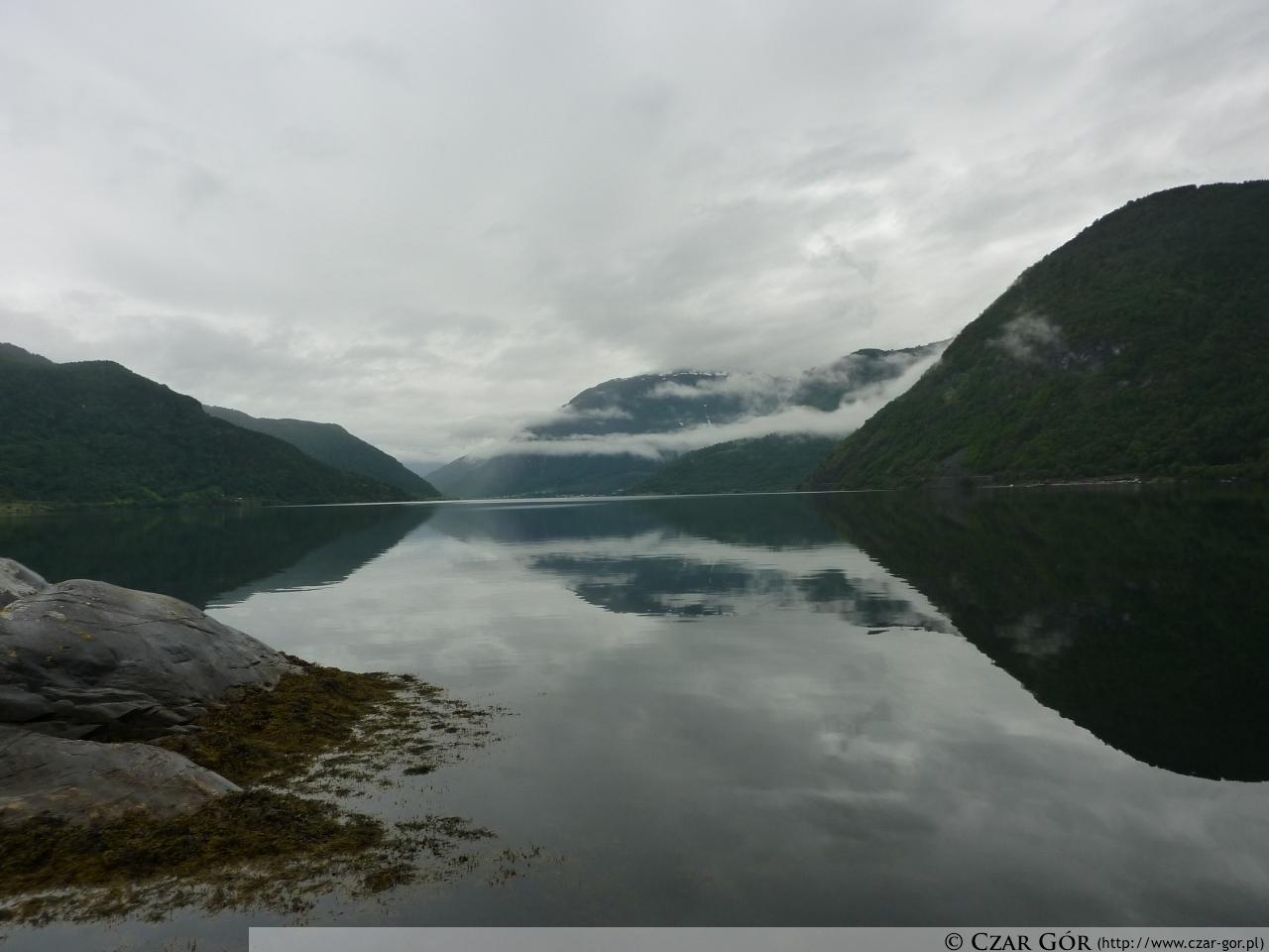 Sognefjord widziany z Sogndal