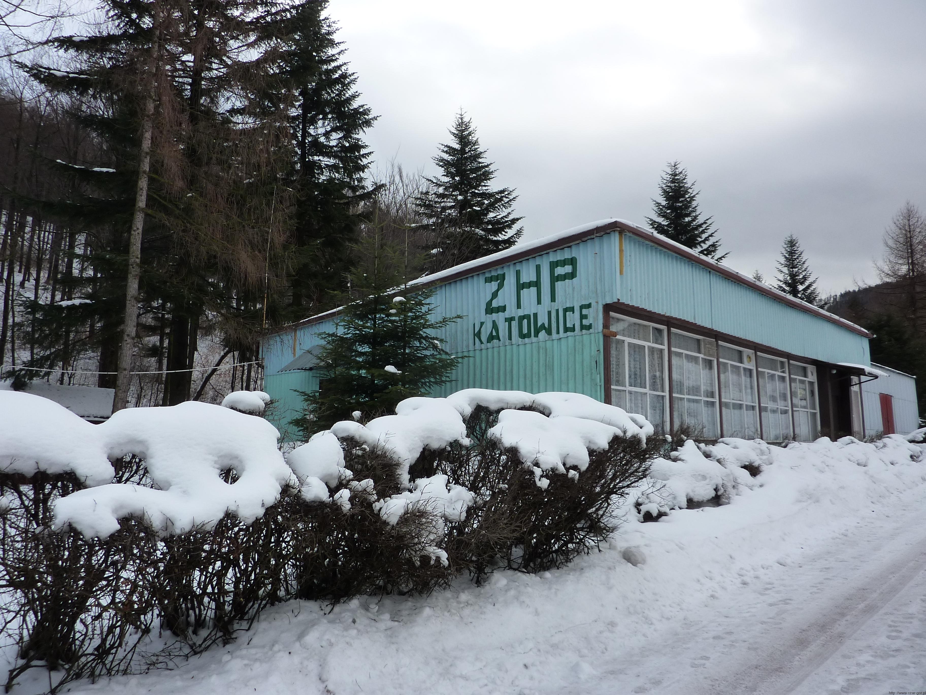 Budynek ZHP Jasionki