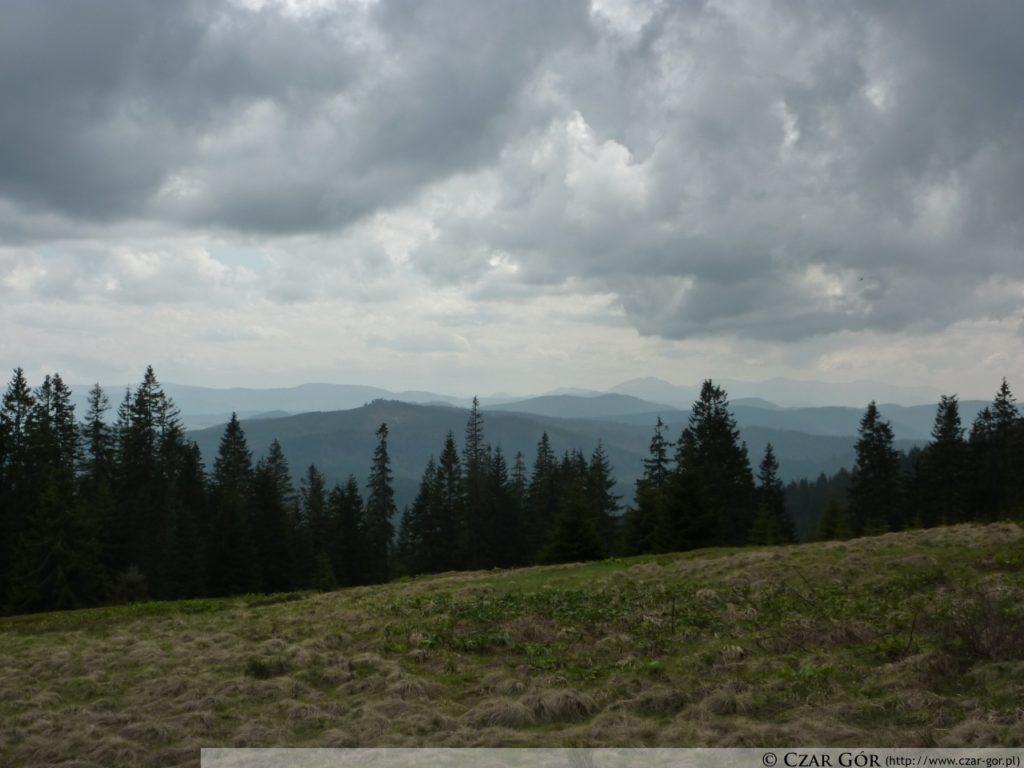 Panorama z Rysianki