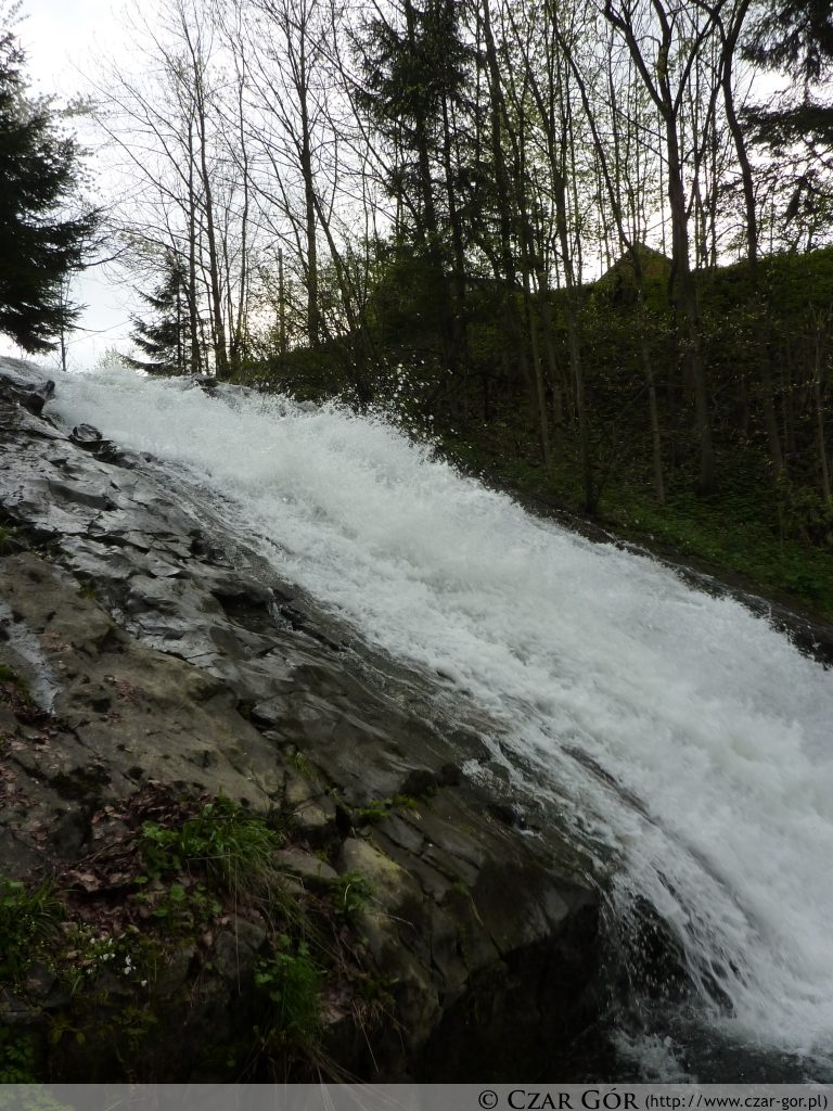 Wodospad w Sopotni Wielkiej
