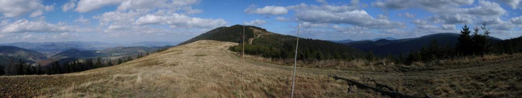 Panorama z Hali Pawlusiej