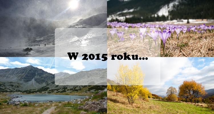 Blogowe podsumowanie 2015 roku