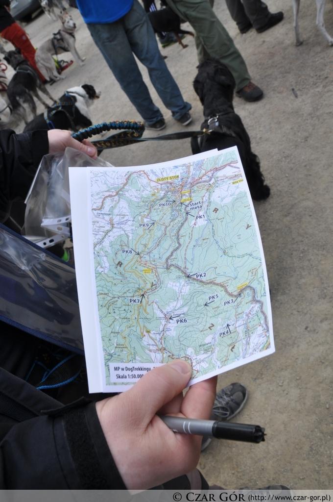 Przebieg trasy zawodów w Złotym Stoku 2013